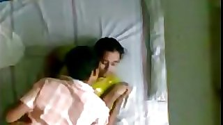 Indian Kerala aunty and husbands younger step-brother hidden camera