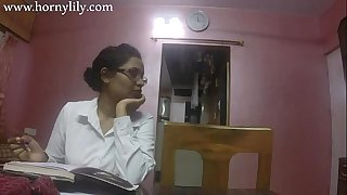 Indian Sex Teacher Wild Lily Love Lesson