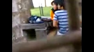 Indian College College girls Fucking in public park Spycam Recorded by people