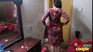 Indian Wife Sonia In Shalwar Suir Strips Naked Hardcore Hard-core Fuck