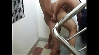 Indian desi fuck Delectation at staircase